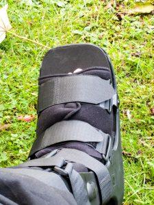 My foot.